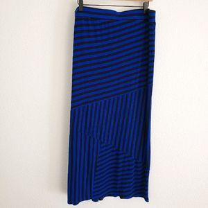 Apt 9 Striped Maxi Skirt XL